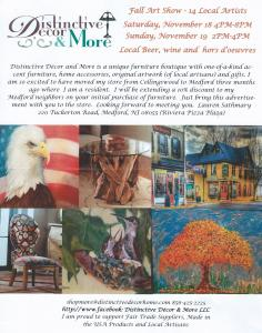 Fall Art Show Distinctive Decor And More LLC